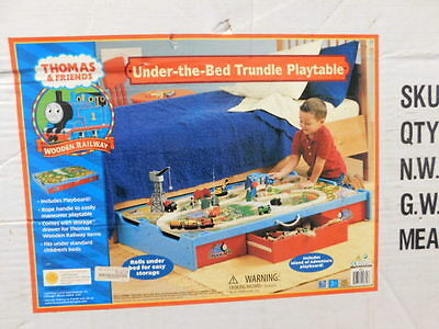 New Thomas & Friends Under-The-Bed Trundle Playtable Wooden Railway System