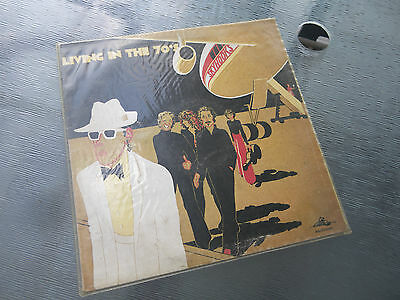 Skyhooks Living In The 70's Oz Press Mushroom Label Aussie Rock Lp Record - 1974