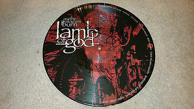 LAMB OF GOD As The Palaces Burn PIC PICTURE LP BAND SIGNED AUTOGRAPHED Album #A