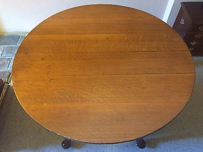Antique Silky Oak Dining Table