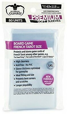 Ultimate Guard French Tarot Cards Premium Soft Sleeves (Pack Of 80)