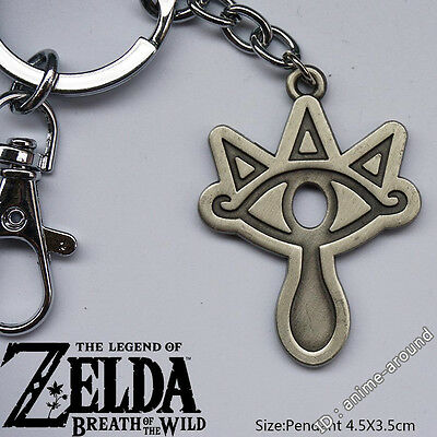 Sheikah Slate Keychain Pendant The Legend of Zelda: Breath of the Wild Game Gift