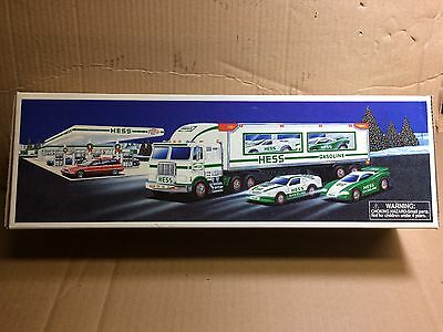 Hess Truck and Racers, 1997, MIB