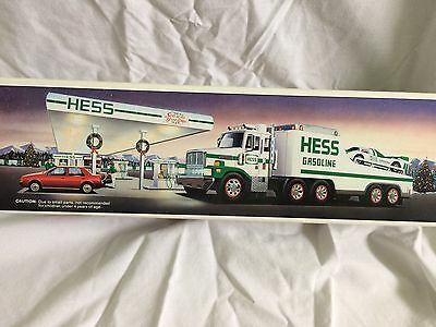 Hess Toy Truck and Racer, 1988, MIB