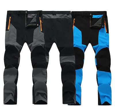 Good Men Waterproof Breathable Hiking Camping Quick-drying Climbing Outdoor Pant