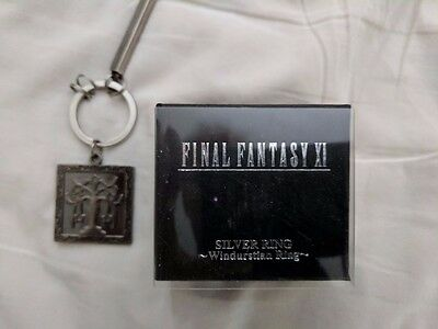 Final Fantasy XI FFXI FF11 Windurst Ring and Key Chain Lot
