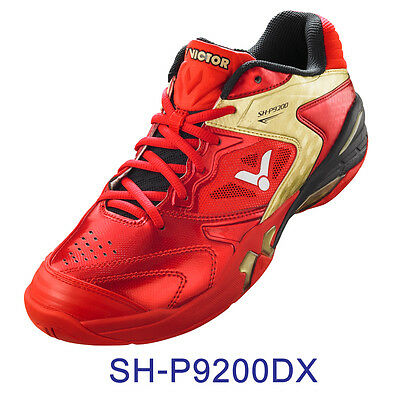 VICTOR SH-P9200-DX Badminton Squash Shoes Shock Absorbing Top Model size 9 -9.5