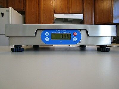 Brecknell 6720U POS 60 lbs/30kg Bench Scale Bakery Restaurant