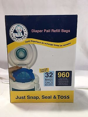 Diaper Pail Refill Bags 32 Holds 960 Diapers New Neat For Baby RC