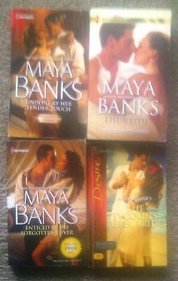 MAYA BANKS - 3 Silhouette and Harlequin Books & The Bride