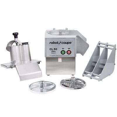 Robot Coupe CL50E, Continuous Feed Food Processor, cETLus, ETL, NSF, UL, CSA