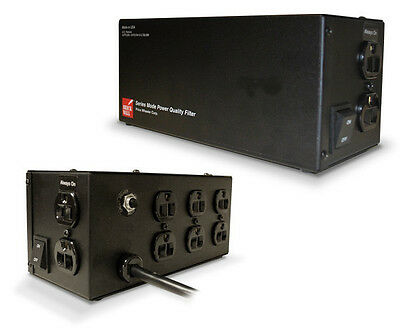 BrickWall PW8R15AUD 15A 120V  8 outlet Surge protector - No MOV 10 year warranty