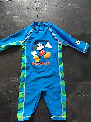 Boys Swimming Suit 12-18 Months Disney Store