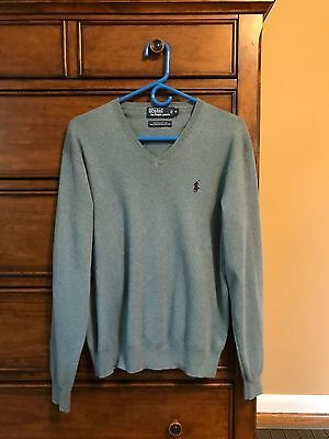 Ralph Lauren Polo Classic Pima Cotton V-Neck Sweater: Men's Medium