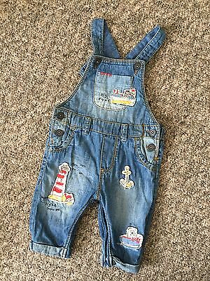 Next Dungarees Baby Boy 3-6 Months