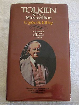 (Tolkien) Tolkien & The Silmarillion by Clyde S. Kilby - 1st Ed. Hardcover 1976