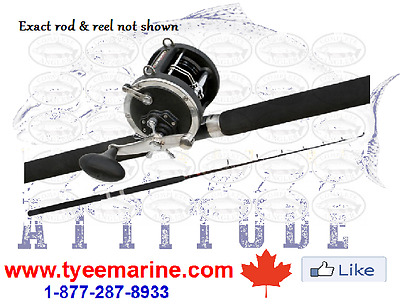Penn Halibut Combo with Line in Canada 250-334-2942