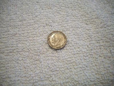 1920 Great Britain George V Silver 3 Pence