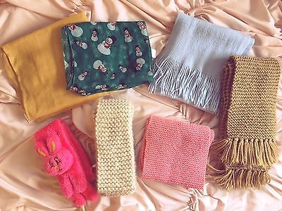 Cute Winter And Autumn Scarves 4+