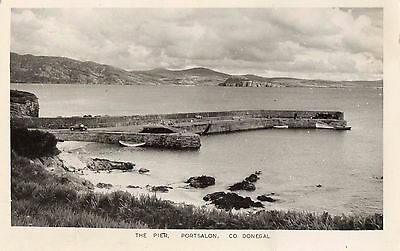 THE PIER PORTSALON CO. DONEGAL IRELAND RP IRISH POSTCARD by PADRAIG KENNELLY