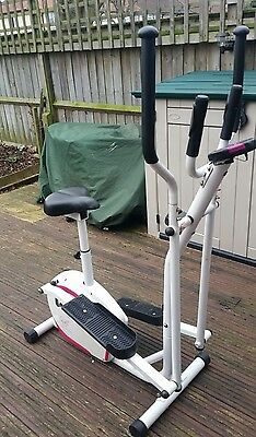 Davina 2 in 1 cross trainer and exercise bike