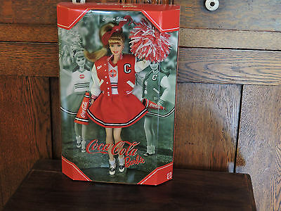 2000  Barbie Doll 2000 Coca Cola Cheerleader # 28376