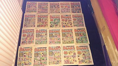 Vintage Beano Comic Joblot X 20 All From 1985