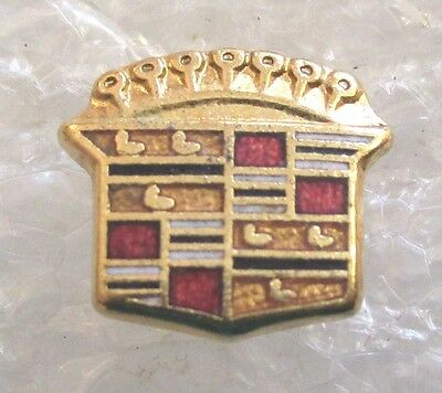 Vintage Cadillac Owner Logo Tie Tack or Advertising Pin-Older Style