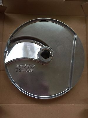 """Robot Coupe 28004 4mm (5/32"""") Slicing Disc R 502, CL 50s, CL 52, CL 55 Pusher"""
