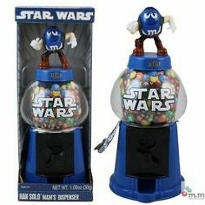 2010 M&M M & M Star Wars Han Solo Candy Dispenser NEW In Box Collector
