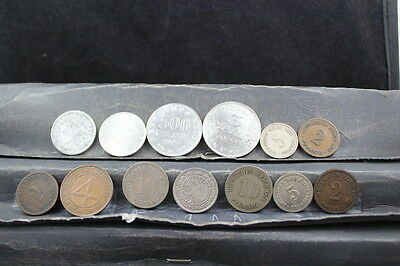 GERMANY mixed lot 13 assorted coins  lot G 728