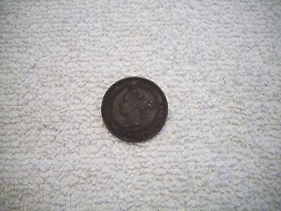1882 H Canada Large One Cent