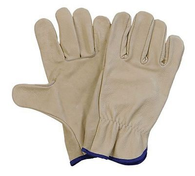 5 Safe Rite Leather Riggers Gloves Size Med. (Free Shipping Australia Wide)