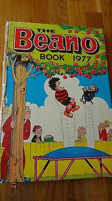 The Beano Book 1977  Vintage Hardback Annual