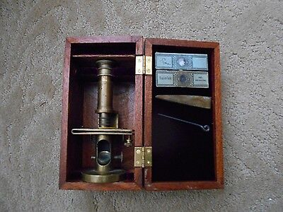 Small German?? Drum-Style Microscope