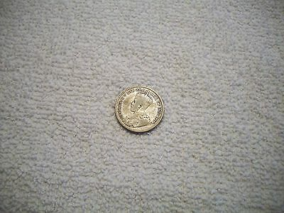 1936 Canada Silver 25 Cents w/dot
