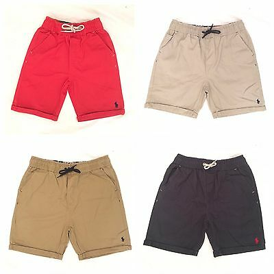 Polo Ralph Lauren Boys Chino Fit Shorts For Boys Kids Size's From 8Yrs -- 20 Yrs
