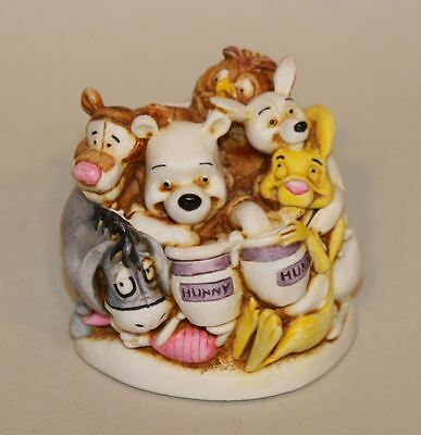 Harmony Kingdom Disney Figurine Winnie the Pooh and Friends WDWPOOH New in Box