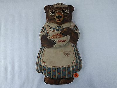 Vintage Kellogg's Cereal Cloth Advertising Doll - Mama Bear