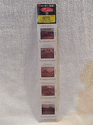 Flintstones Dexter Super 35's Bedrock City Custer SD Projector Slides Sealed