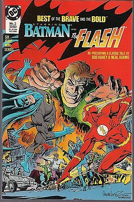 BEST OF BRAVE AND THE BOLD #2 DC BATMAN & FLASH 60's NEAL ADAMS #81 REPRINT NM