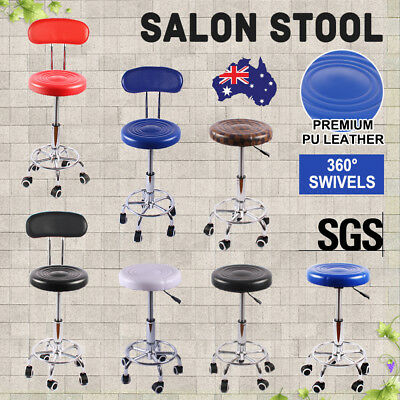 Salon Chair Styling Stool Barber Hairdressing Massage Equipment Hydraulic Lift