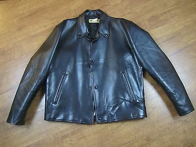 Vintage Harley Davidson Faux Leather Riding Jacket. 50's 60's?
