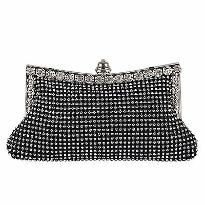 Rhinestone Hand Clutch Party Chain Evening Bag Bridal Purse Wedding Bags Wallet
