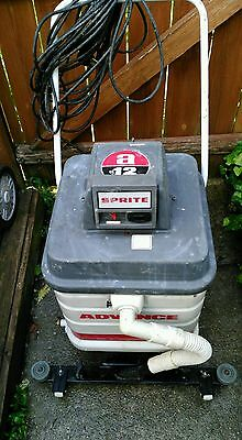 Advance Sprite 12 Commercial Wet Vac With Squeegee Mount System