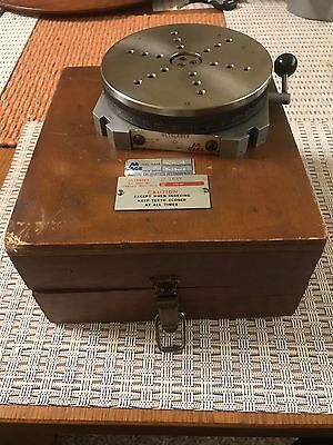 """ULTRADEX AA GAGE 5"""" PRECISION ROTARY TABLE w/CASE MODEL 0"""