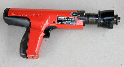 -HILTI DX35 Powder Actuated Fastening Systems