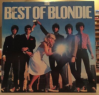 BLONDIE - THE BEST OF BLONDIE EX/VG+ lp Rock, New Wave 1981
