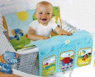 2 Bright Starts Kids II Cozy Cart Cover 3 in 1