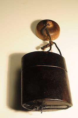 Antique Japanese 19Th Century Lacquered Inro